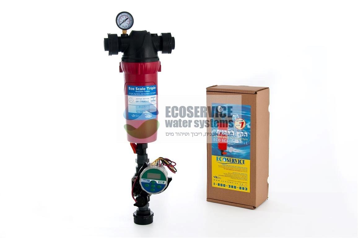 מודרניסטית מסנן מים דירתי | מסנן מים ראשי | אקוסרוויס WH-58